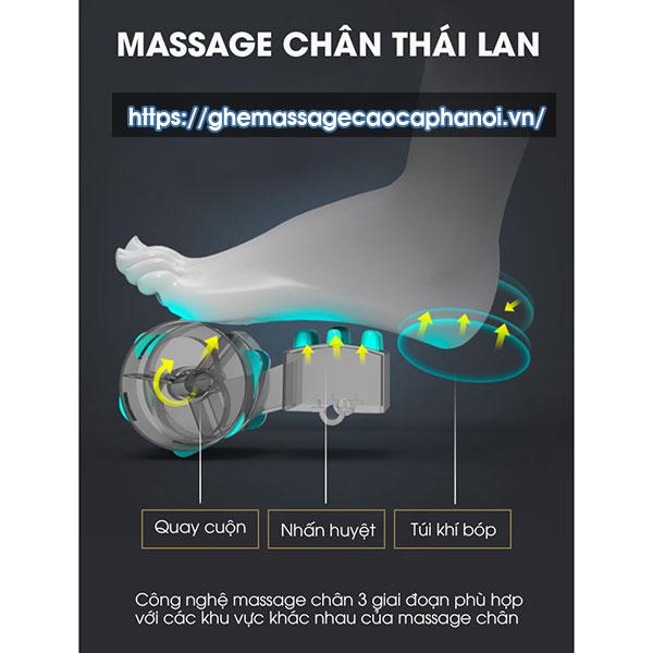 Massager Chân Thái Lan