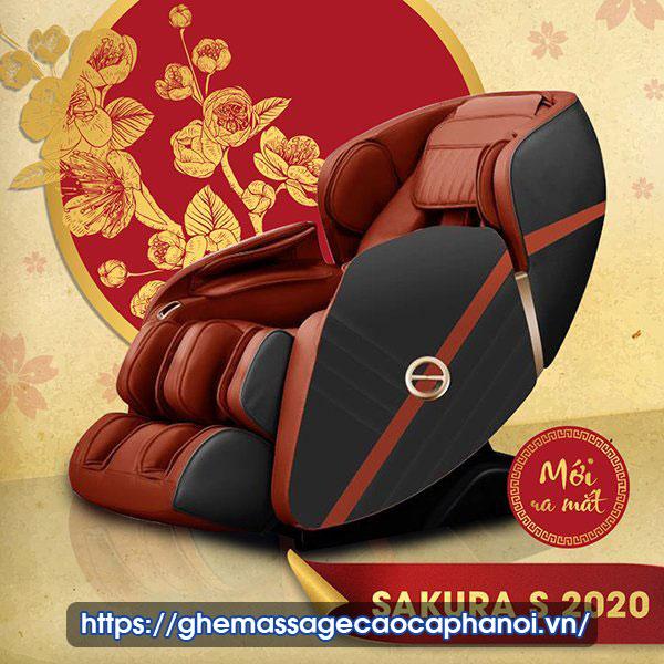 Ghế Massage Sakura S 2020 Boss Luxury
