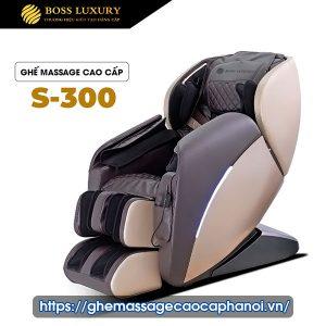 Ghế Massage Toàn Thân Boss Luxury S-300